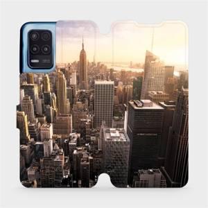 Flip pouzdro Mobiwear na mobil Realme 8 5G - M138P New York