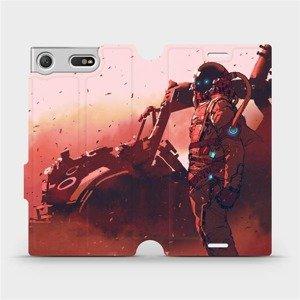 Flipové pouzdro Mobiwear na mobil Sony Xperia XZ1 Compact - MA09S Průzkumník s červeným vozítkem