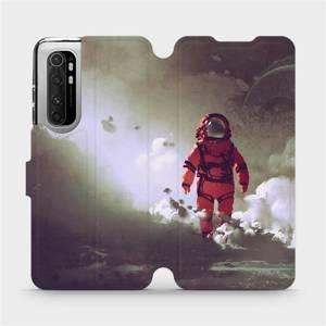 Flipové pouzdro Mobiwear na mobil Xiaomi Mi Note 10 Lite - MA07S Týpek ve skafandru