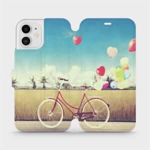 Flipové pouzdro Mobiwear na mobil Apple iPhone 12 - M133P Kolo a balónky