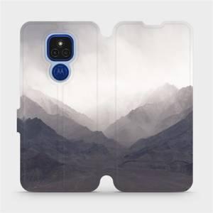 Flipové pouzdro Mobiwear na mobil Motorola Moto E7 Plus - M151P Hory