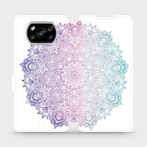 Flipové pouzdro Mobiwear na mobil Xiaomi POCO X3 NFC - M008S Mandala