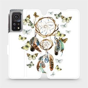 Flipové pouzdro Mobiwear na mobil Xiaomi MI 10T Pro - M001P Lapač a motýlci