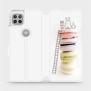 Flipové pouzdro Mobiwear na mobil Motorola Moto G 5G - M090P Makronky - have a nice day