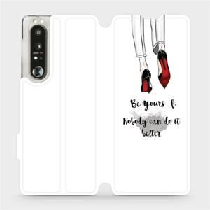 Flip pouzdro Mobiwear na mobil Sony Xperia 1 III - M046P Be yourself