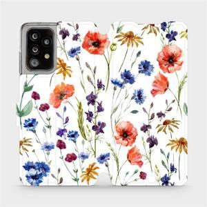 Flip pouzdro Mobiwear na mobil Samsung Galaxy A52 / A52 5G - MP04S Luční kvítí