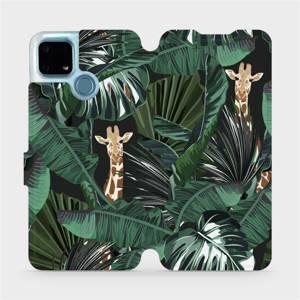 Flip pouzdro Mobiwear na mobil Realme 7i - VP06P Žirafky