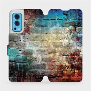 Flip pouzdro Mobiwear na mobil OnePlus Nord 2 5G - V061P Zeď