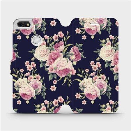 Flipové pouzdro Mobiwear na mobil Huawei P9 Lite mini - V068P Růžičky