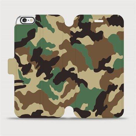 Flipové pouzdro Mobiwear na mobil Apple iPhone 6 / iPhone 6s - V111P Maskáče