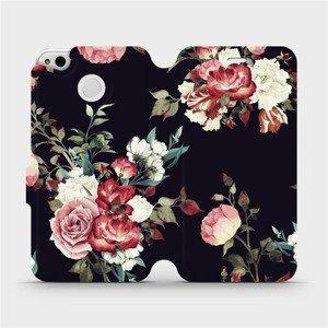 Flipové pouzdro Mobiwear na mobil Xiaomi Redmi 4X - VD11P Růže na černé