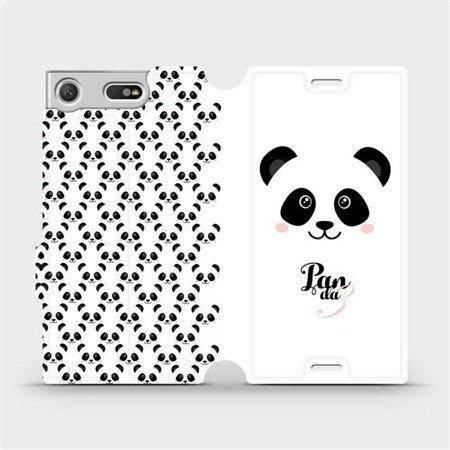 Flipové pouzdro Mobiwear na mobil Sony Xperia XZ1 Compact - M030P Panda Amálka