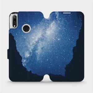 Flipové pouzdro Mobiwear na mobil Huawei Y7 2019 - M146P Galaxie