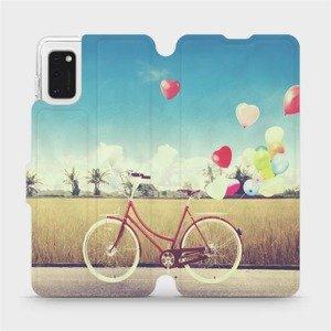 Flipové pouzdro Mobiwear na mobil Samsung Galaxy A41 - M133P Kolo a balónky
