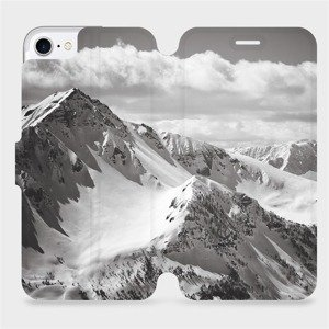 Flipové pouzdro Mobiwear na mobil Apple iPhone SE 2020 - M152P Velehory