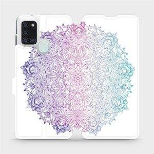 Flipové pouzdro Mobiwear na mobil Samsung Galaxy A21S - M008S Mandala