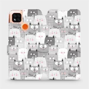 Flipové pouzdro Mobiwear na mobil Xiaomi Redmi 9C - M099P Kočičky