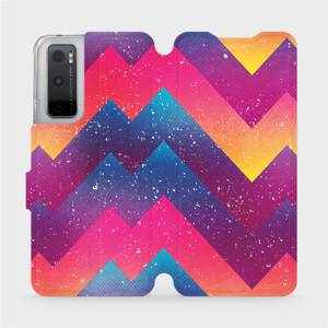 Flipové pouzdro Mobiwear na mobil Vivo Y70 - V110S Barevné klikyháky