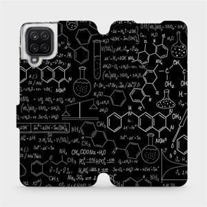 Flipové pouzdro Mobiwear na mobil Samsung Galaxy A12 - V060P Vzorečky