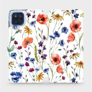 Flip pouzdro Mobiwear na mobil Samsung Galaxy M12 - MP04S Luční kvítí