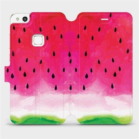 Flipové pouzdro Mobiwear na mobil Huawei P10 Lite - V086S Melounek