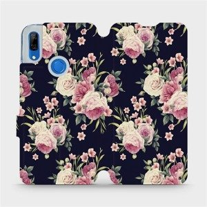 Flipové pouzdro Mobiwear na mobil Huawei P Smart Z - V068P Růžičky
