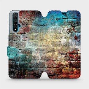 Flipové pouzdro Mobiwear na mobil Huawei Nova 5T - V061P Zeď