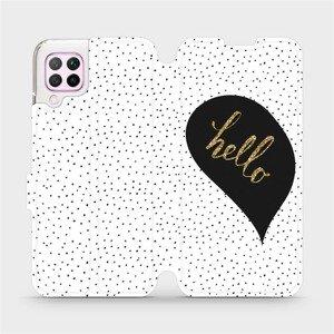 Flipové pouzdro Mobiwear na mobil Huawei P40 Lite - M013P Golden hello