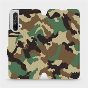 Flipové pouzdro Mobiwear na mobil Realme X3 SuperZoom - V111P Maskáče