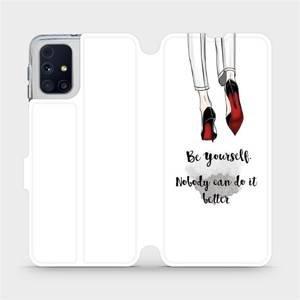 Flipové pouzdro Mobiwear na mobil Samsung Galaxy M31s - M046P Be yourself