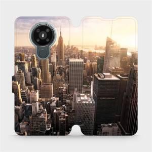 Flipové pouzdro Mobiwear na mobil Nokia 3.4 - M138P New York