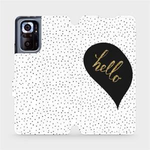 Flipové pouzdro Mobiwear na mobil Xiaomi Redmi Note 10 Pro - M013P Golden hello