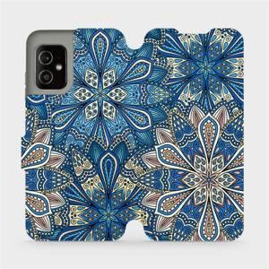 Flip pouzdro Mobiwear na mobil Asus Zenfone 8 - V108P Modré mandala květy
