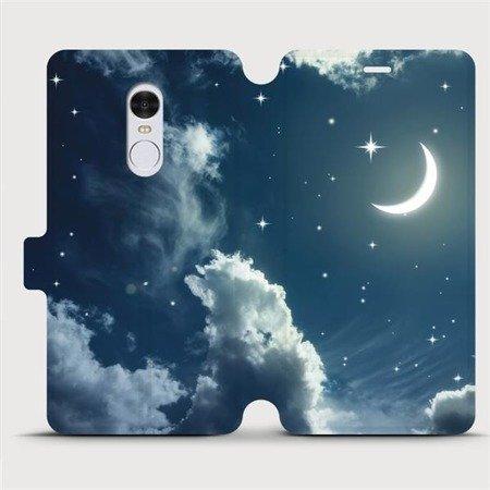 Flipové pouzdro Mobiwear na mobil Xiaomi Redmi Note 4 Global - V145P Noční obloha s měsícem