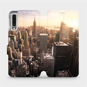 Flipové pouzdro Mobiwear na mobil Samsung Galaxy A7 2018 - M138P New York