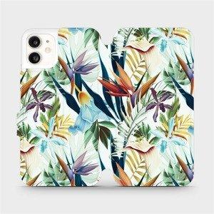 Flipové pouzdro Mobiwear na mobil Apple iPhone 11 - M071P Flóra