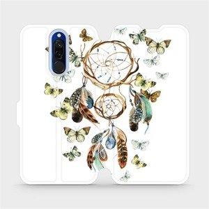 Flipové pouzdro Mobiwear na mobil Xiaomi Redmi 8 - M001P Lapač a motýlci