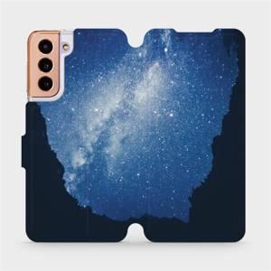 Flipové pouzdro Mobiwear na mobil Samsung Galaxy S21 5G - M146P Galaxie