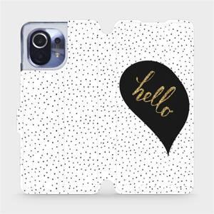 Flipové pouzdro Mobiwear na mobil Xiaomi Mi 11 - M013P Golden hello