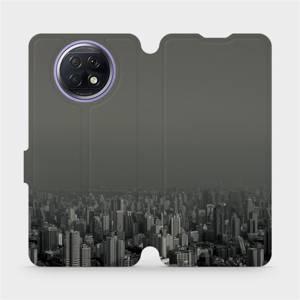 Flipové pouzdro Mobiwear na mobil Xiaomi Redmi Note 9T 5G - V063P Město v šedém hávu