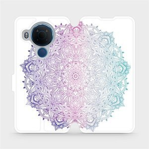 Flipové pouzdro Mobiwear na mobil Nokia 5.4 - M008S Mandala
