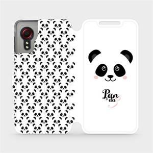 Flipové pouzdro Mobiwear na mobil Samsung Galaxy Xcover 5 - M030P Panda Amálka
