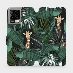 Flip pouzdro Mobiwear na mobil Realme 8 - VP06P Žirafky