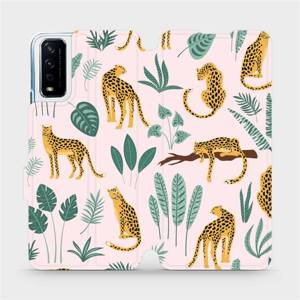 Flip pouzdro Mobiwear na mobil Vivo Y11S - MP07S Leopardi