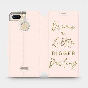 Flipové pouzdro Mobiwear na mobil Xiaomi Redmi 6 - M014S Dream a little