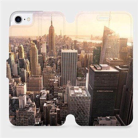 Flipové pouzdro Mobiwear na mobil Apple iPhone 7 - M138P New York
