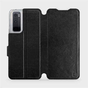 Flipové pouzdro Mobiwear na mobil Vivo Y70 v provedení C_BLS Black&Gray s šedým vnitřkem