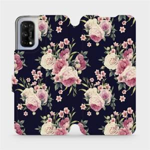 Flipové pouzdro Mobiwear na mobil Realme 7 5G - V068P Růžičky