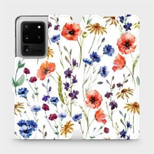 Flip pouzdro Mobiwear na mobil Samsung Galaxy S20 Ultra - MP04S Luční kvítí
