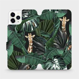 Flip pouzdro Mobiwear na mobil Apple iPhone 11 Pro Max - VP06P Žirafky